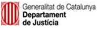 Department of Justice Logo, Catalonia